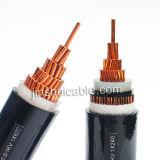 XLPE изоляцией ПВХ оболочки кабеля питания для проекта