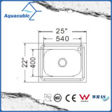 Einzelne Filterglocke-Edelstahl Moduled Küche-Wanne (ACS-2522)