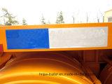 Drei Behälter-Speicherauszug-halb LKW-Schlussteil der Wellen-20FT/Kipper-Schlussteil