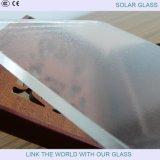 vidrio Tempered solar de 3.2mm/4m m con el vidrio modelado ultra claro