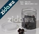 Опарник качества еды цилиндра любимчика пустой оптовый ясный пластичный сладостный для еды