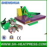 machine à haute pression de presse de la chaleur 4in1 pour le T-shirt et les tasses