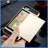 Cas neuf de téléphone cellulaire de caisse de carte d'arrivée pour l'iPhone 7/7plus