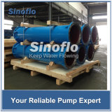 Mischte VS6 überhangenes axiales API610/Fluss-vertikale Turbine-Sumpf-Pumpe