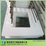 Capos motor curvados claros adicionales del rango de Shandong 8m m de cristal