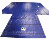 Entrambe maglia rivestita del PVC della tela incatramata del tessuto del PVC del lato