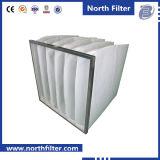 Type primaire filtre à manches de poche de filtre à air de climatisation