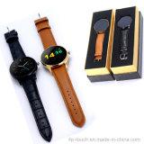高品質の心拍数センサーが付いている円形のタッチ画面のスマートな腕時計の電話