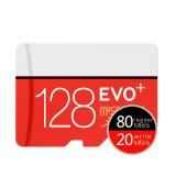 O micro cartão de memória C10 do SD 32g SDHC Class10 Uhs-I TF/SD carda o transporte Sdxc instantâneo 64GB 128GB