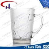 tazza bianca eccellente dell'acqua di vetro di silice 400ml (CHM8104)