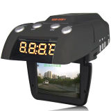 GPS + レーダー検出器 + ビデオレコーダー