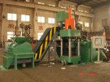 Bloque de metal de chatarra de cobre que hace la máquina