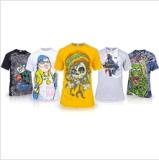 Fashion T-shirt imprimé pour les hommes (M270)
