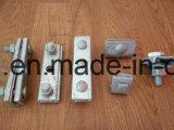 Tipo de alimentación Cable eléctrico de la abrazadera de la cuerda de Hardware de montaje de la abrazadera de cable