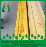 Viga de madera de pino pintados de amarillo H20/H16, el Pino LVL de brida, el contrachapado de chopo para Web