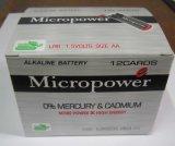 De super Batterij van de Grootte van de Macht aa Alkalische Droge