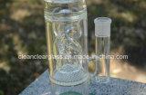 Conduite d'eau en verre de qualité la plus neuve des Etats-Unis de la fève en verre de couleur avec Perc créateur
