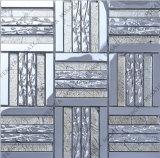 De aço inoxidável, Goldleaf Mosaico Mosaico de Cristal, Silverly Mosaico de Metal (98A FM02)