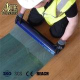 PE Plastique Film de protection de sol en bois clair