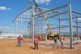アンゴラの高品質の鉄骨構造の倉庫