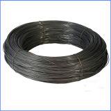 Fio de ligação anelada preto para a construção