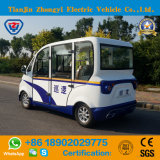 Carro de patrulha incluido do polícia do veículo eléctrico de 4 assentos