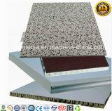 Изготовленный на заказ Prepainted цветом алюминиевые панели сота для внешнего фасада стены