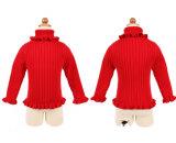 Formgroßhandelsturtleneck-Komfort und weiche Kind-Kaschmir-Strickjacke