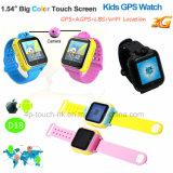 '' 3G/1.54 Touch Screen intelligente GPS-Verfolger-Uhr mit Geo-Zaun D18