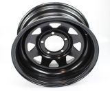 La rotella d'acciaio borda la rotella del rimorchio degli orli dello Spoke 5X114.3