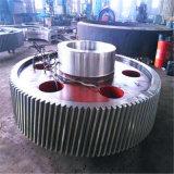 A alta precisão de aço forjado e da engrenagem do pinhão do eixo do pinhão