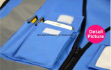 Chaleco reflector de seguridad de alta visibilidad Imprimir Logo chaleco de trabajo Multi bolsos uniforme