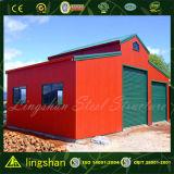 Qingdao Pre-Сделал раздвижной дверью стальной полуфабрикат амбар