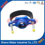 Saddle taraudage avec Stainless Steel Bend pour ductile Cast Iron Pipe / Steel Pipe / plastique PVC pipe