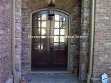 Дверь входа обеспеченностью открытого металла качания материальная