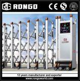 電気アルミニウム引き込み式の塀のゲート