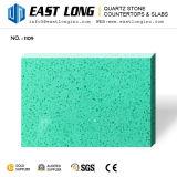 Rouge, Jaune, Vert, Bleu Quartz artificielle dalle de pierre de couleur
