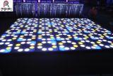 最も新しい60*60cmの花の効果DMX制御LED結婚式のダンス・フロア