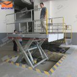 Plate-forme hydraulique de levage de ciseaux de véhicule à vendre