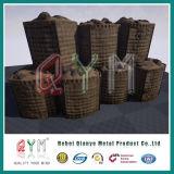 Самый лучший тип барьер Mil цены Hesco/стена /Flood коробки Hesco Gabion