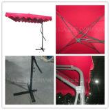 Hz-Um5 3.5X2.5meter Stahlschlüssel-Regenschirm-Garten-im Freien hängender Sonnenschirm