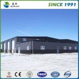 Edificios de acero industrial Fábrica con material resistente al agua