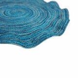 Onda Placemat tecido poliéster 100% para o Tabletop