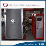 La machine de dépôt de plasma d'arc de PVD pour la salle de bains sanitaire d'accessoires filète l'enduit d'or de Rose d'or
