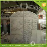 La vente en gros 201 304 de la Chine a repéré le matériau de produit d'acier inoxydable pour le panneau de porte d'ascenseur