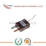 Gelbe Farbe ANSI-Standardthermoelementverbinder (Typ K/E/T/N/S)