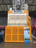 Xmt/Xuanyu choisissent l'ascenseur superbe de construction de matériau et de passager de hauteur de cage de /Twin