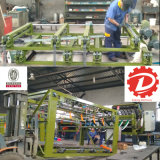 Maquinaria que empalma de la carpintería del compositor de motor servo de la chapa automática de la base