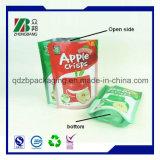 Sac de snack en plastique avec fermeture à glissière