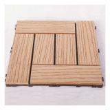 2017years / mejor la venta caliente DIY Azulejos Patio de madera con madera compuesto plástico piso / Exterior